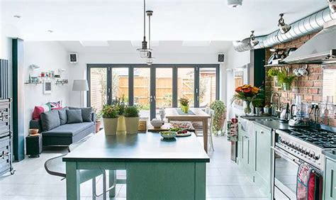 real home  york loft style kitchen extension real homes
