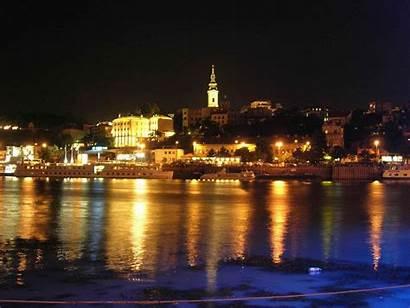 Belgrade Wallpapers Serbia Night Desktop Px Wallpapercave