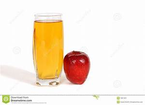 Glass Of Apple Juice Stock Image - Image: 1901401