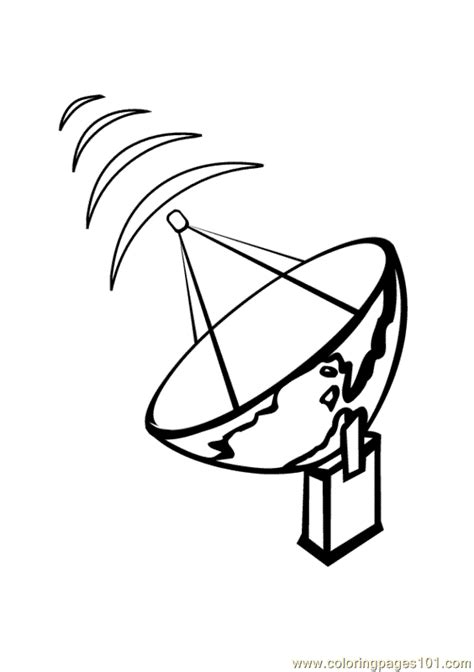 radar coloring page   coloring pages