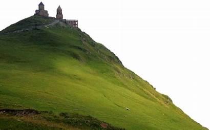 Hill Mountain Grass Transparent Monastery Picsart Church