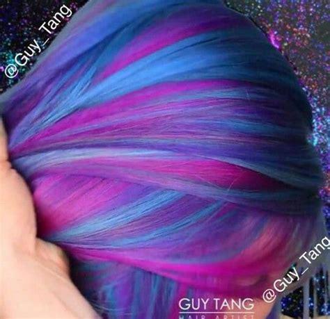 25 Best Ideas About Galaxy Hair On Pinterest Galaxy