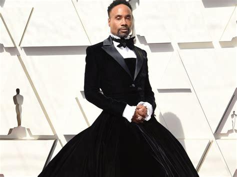 Actor Billy Porter Wore Tuxedo Dress The Oscars Insider