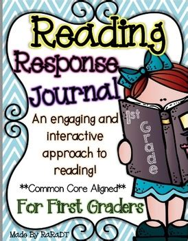 reading response journal cover interactive reading response journal grade by