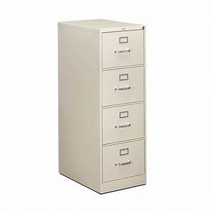 hon 4 drawer vertical file cabinet letter legal atwork With letter vs legal size file cabinet