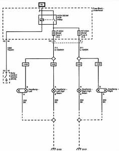 Gmc Savana Headlight Wiring Diagram
