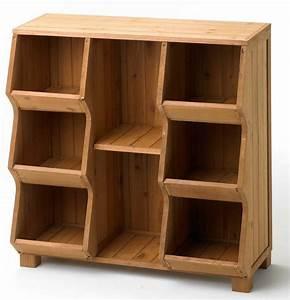 Cubby Storage Unit Shelf Organizer Furniture Wood Toy Bin