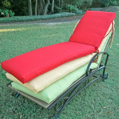 blazing needles outdoor chaise lounge cushion outdoor