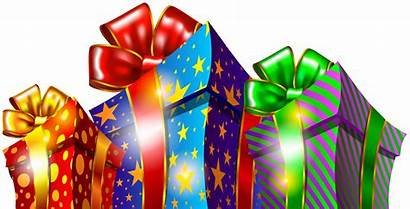 Gift Christmas Clipart Packages Boxes Gifts Holiday