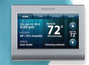 Thermostat Compatibility Chart Honeywell Rth9580wf Wi Fi Smart Touchscreen Thermostat