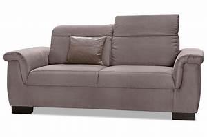 2er Sofa Günstig : 2er sofa sully braun sofas zum halben preis ~ Markanthonyermac.com Haus und Dekorationen