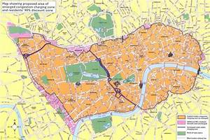 1 Map Of The London Congestion Charging Zone Source
