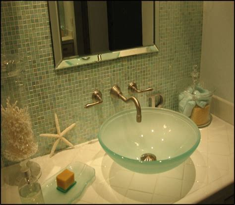 Small Spa Like Bathroom by Small But Spa Like Bathroom Done In Blues And