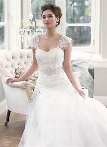 lace wedding dress dressed up girl With lace wedding dresses with cap sleeves