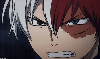 Todoroki Shoto Academia Hero Anime Gifs Shouto