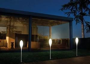 Eclairage Exterieur Jardin : eclairage exterieur design designer de lampe ~ Melissatoandfro.com Idées de Décoration