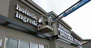 signcraft maintains and installs exterior and interior With how much do channel letter signs cost