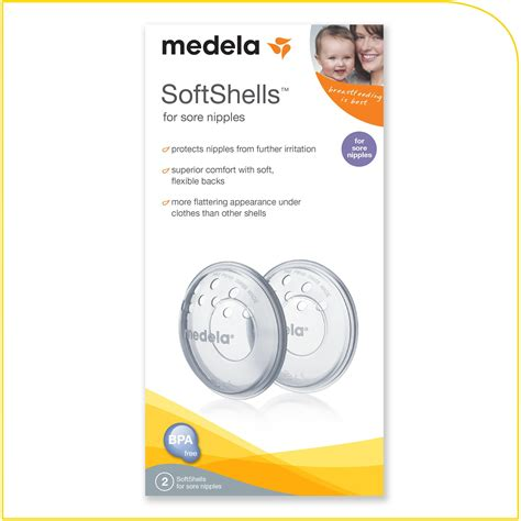 Medela Softgels Nipple Shields Bun In The Oven