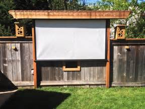 Outdoor Movie Theater Screen