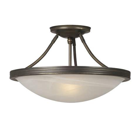 lowes semi flush mount ceiling light galaxy lighting 660480 3 light julian semi flush ceiling