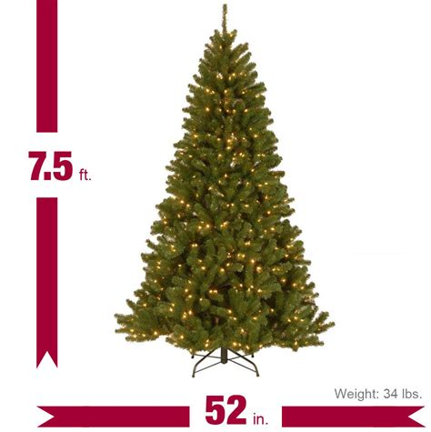 7 5 ft north valley spruce artificial christmas tree with