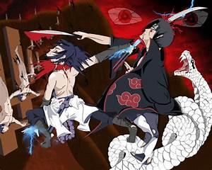 Itachi vs Sasuke - Naruto Shippuuden Fan Art (9162929 ...