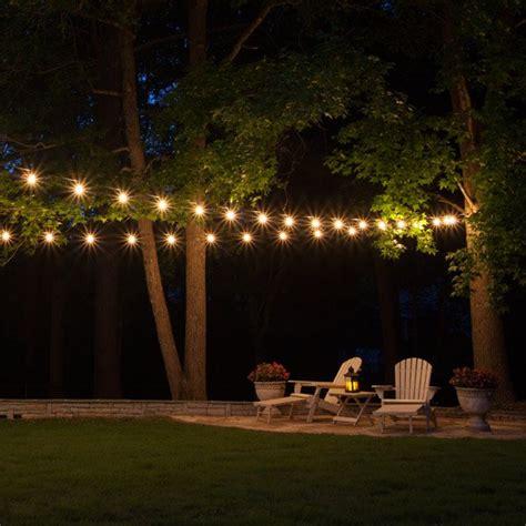 String Patio Lights by Patio String Lights Yard Envy