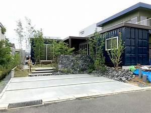 L-shaped, Container, House, -, Japan
