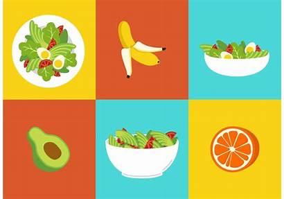 Healthy Diet Vectors Vector Graphics Non