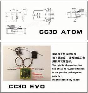 Openpilot Cc3d Atom Mini Cc3d Fpv Flight Controller Cc3d