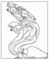 Pandora Coloring Jar Pages Drawing Box Troubles Pandoras Horse Sea Golden sketch template