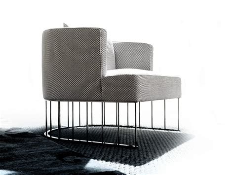 Easy Chair Upholstery by Upholstered Fabric Easy Chair Tentazione By Erba Italia
