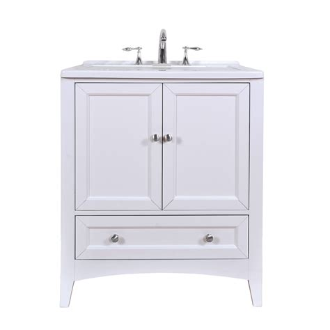 white laundry sink cabinet stufurhome 30 5 quot laundry utility sink vanity pure white