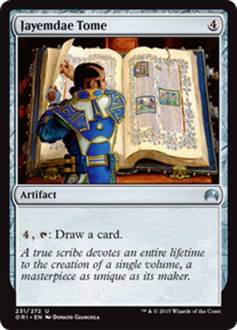 old school magic deck tech tron by christopher cooper