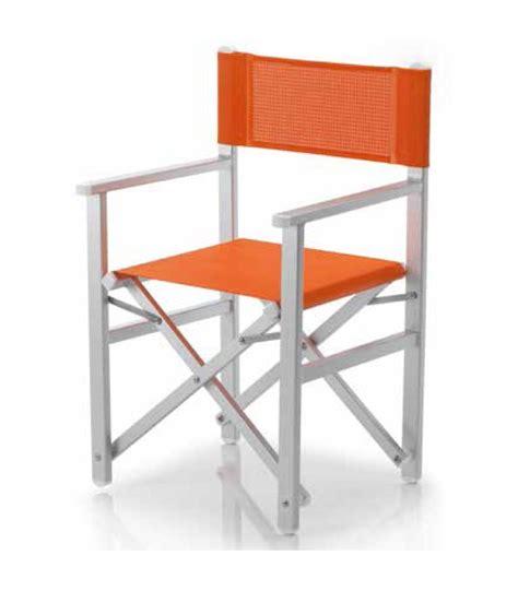 chaise de metteur en scène fauteuil pliant aluminium metteur en scène ramberti et toile