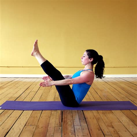 Boat Pose by How To Hold Boat Pose Without Falling Popsugar Fitness