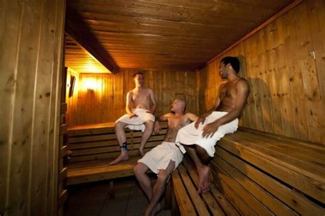Locker Room Gay Sauna