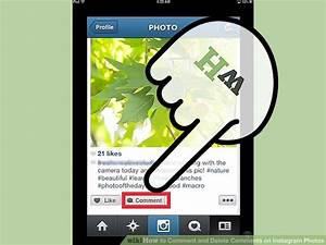 How to Comment and Delete Comments on Instagram Photos: 10 ...