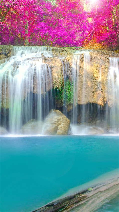 waterfall kakskad river iphone wallpaper iphone wallpapers