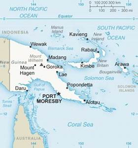 Geography of Papua New Guinea - Wikipedia