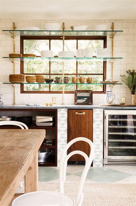 Kitchen Open Shelves Images by 26 Kitchen Open Shelves Ideas Decoholic