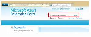 How Do I Configure Azure Ea  Enterprise Agreement