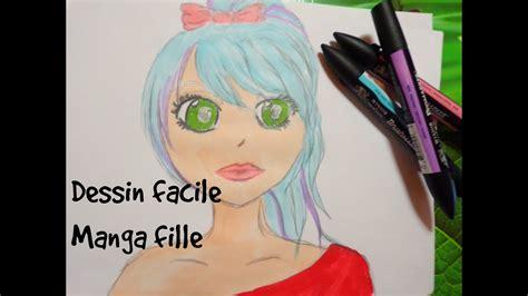 dessin facile fille dessin facile fille