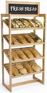 Farmers Market Bread Display