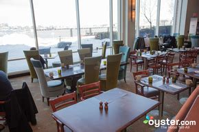 Harborside Grill And Patio Hyatt Harborside Boston by Hyatt Boston Harbor Hotel Oyster Review Photos