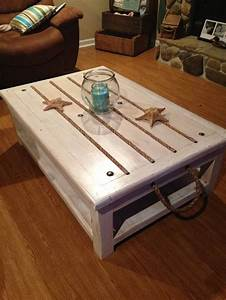 beach theme coffee table decorating ideas for charleston With beach inspired coffee table