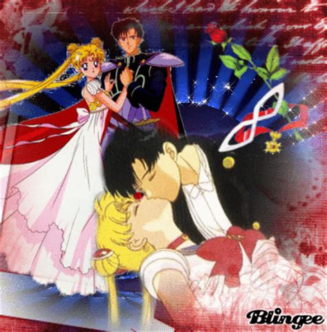Sailor Moon Picture 135302587 Blingee Sailor Moon And Tuxedo Mask Picture 117665379 Blingee Com
