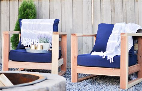 Diy Modern Outdoor Chair Buildsomethingcom