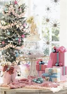 5 Below Lights 25 Glamorous Pastel Christmas Décor Ideas Digsdigs