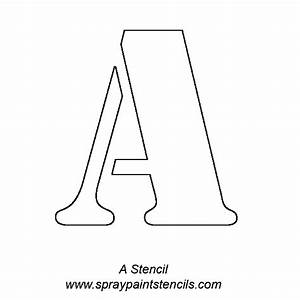 Alphabet letter stencils for Stencil patterns letters